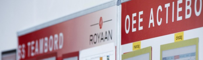 OEE example of Royaan in use