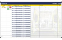 Planning board | Example Ambulance East (120x200cm)