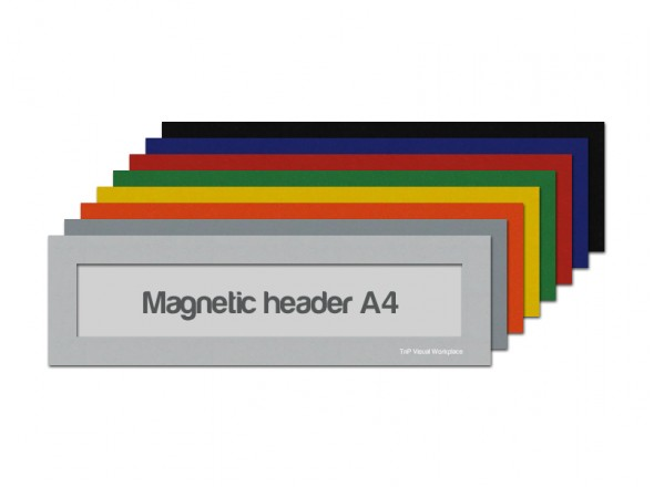 Magnetic window A4 headers